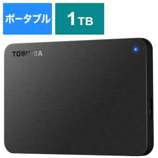 外付けHDD HD-TPA1U3-B ブラック [ポータブル型 /1TB]