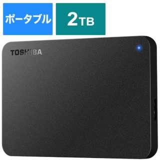 外付けHDD HD-TPA2U3-B ブラック [ポータブル型 /2TB]
