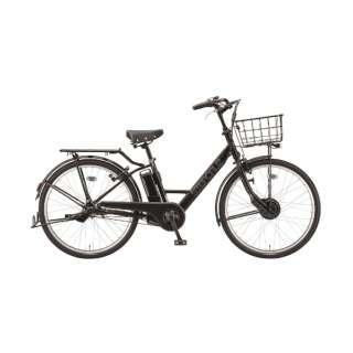 26型 電動アシスト自転車 ステップクルーズe(クロツヤケシ/内装3段変速)ST6B40【2020年モデル】 【組立商品につき返品不可】