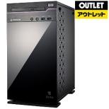 【アウトレット品】 ゲーミングデスクトップPC [Core i7・HDD 1TB・SSD 240GB・メモリ 16GB・RTX2070] ENTA-MI87M1S2H1R27-183 【再調整品】