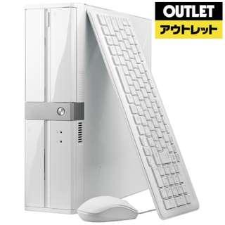 【アウトレット品】 デスクトップPC [Win10Home・Core i3・HDD 1TB・SSD 120GB・メモリ 8GB] BC-SI81M8S1H1-LL 【再調整品】