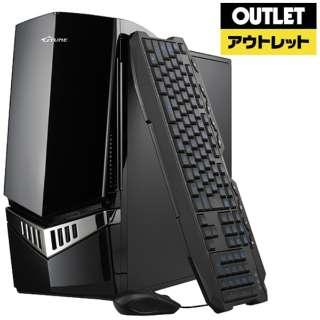 【アウトレット品】 ゲーミングデスクトップPC [Core i7・HDD 1TB・SSD 240GB・メモリ 16GB・GTX1070] BC-NG97KM1S2H1G17-LL 【再調整品】