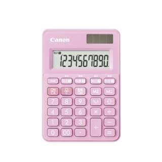 W税ミニミニ電卓 Strawberry Pink LS-100WT-SP [W税率対応 /10桁]