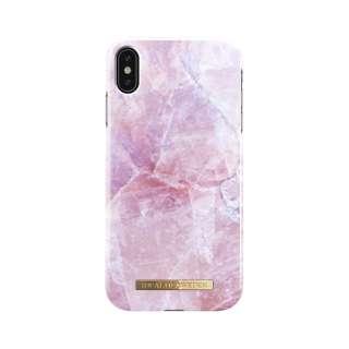 iPhone Xs Max用ケース ピンクマーブル IDFCS17-I1865-52