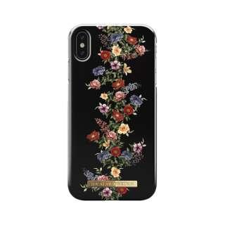 iPhone Xs Max用ケース ダークフローラル IDFCAW18-I1865-97