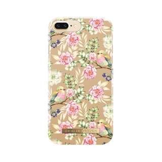 iPhone8/7/6 Plus用ケース フローラルバード IDFCS17-I7P-65