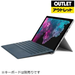 【アウトレット品】 Surface Pro 6 [12.3型 /SSD 1TB /メモリ 16GB /Intel Core i7 /プラチナ /2019年] KJW-00017 Windowsタブレット サーフェスプロ6 【生産完了品】