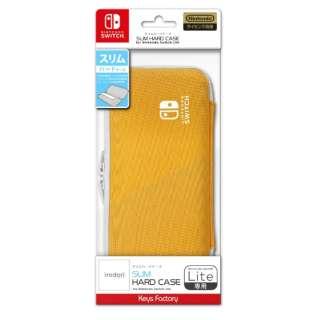 SLIM HARD CASE for Nintendo Switch Lite ライトオレンジ HSH-001-3 【Switch】