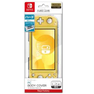 PC BODY COVER for Nintendo Switch Lite クリア HPC-001-1 【Switch】