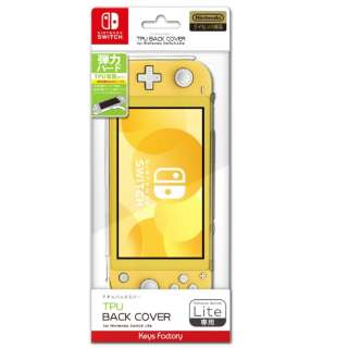 TPU BACK COVER for Nintendo Switch Lite クリア HTC-001-1 【Switch】