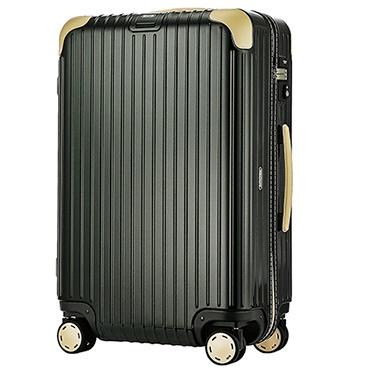 スーツケース 62L BOSSA NOVA(ボサノバ) グリーン/ベージュ 870.63.41.4 [TSAロック搭載]