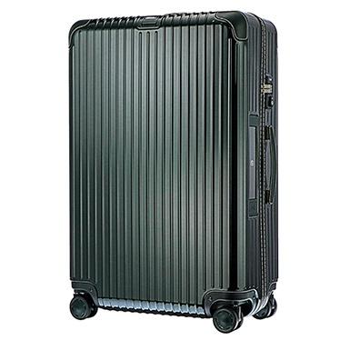 スーツケース 94L BOSSA NOVA(ボサノバ) グリーン/グリーン 870.77.40.5 [TSAロック搭載]