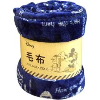 Disney 洗える 毛布【クラシックミッキー】 140×200cm シングルサイズ