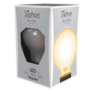 フィラメントLED電球 「Siphon ホワイト ボール80 E26」 LDF70 [E26 /電球色]
