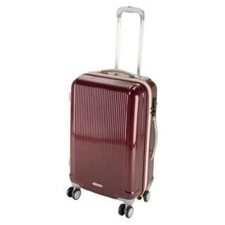 グレル トラベルスーツケース:TSAロック付ダブルファスナータイプ(M/ワインレッド) UV-26