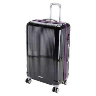 グレル トラベルスーツケース:TSAロック付ダブルファスナータイプ(L/ブラック) UV-31