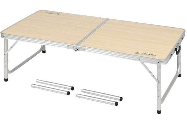 キャプテンスタッグ「ラウンジチェアで食事がしやすいテーブル」UC-516