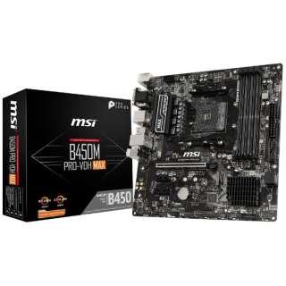 マザーボード B450M PRO-VDH MAX [MicroATX /Socket AM4]