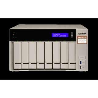 パフォーマンスと機能性を合わせ持った8ベイNASケース TVS-873E TVS-873E