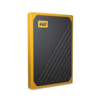 ケーブル一体型 耐衝撃性ポータブルSSD My Passport Go 500GB WDBMCG5000AYT-WESN