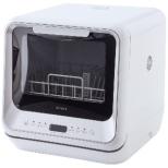食器洗い乾燥機   工事不要/コンパクトサイズ/予約タイマー付き/洗いコース4パターン SS-M151 ホワイト [3人用]