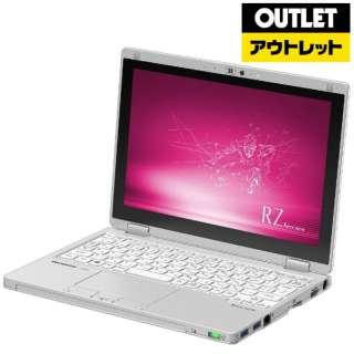 【アウトレット品】 10.1型ノートPC [Win10 Pro・Core i5・SSD 256GB・メモリ 8GB・Office] Let's note(レッツノート)RZ8シリーズ CF-RZ8KDEQR シルバー 【外装不良品】