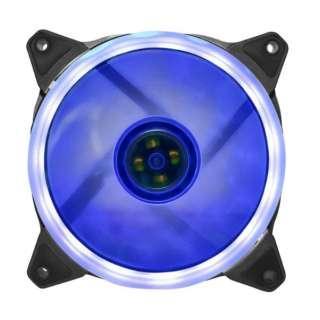 LEDリング付きNEWケース用ファン 120mm スカイブルー OWL-FE1225LLC-SB スカイブルー