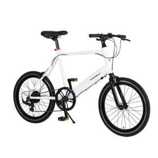 【eバイク】20型 電動アシスト自転車 TRANS MOBILLY E-MAGIC207 トランスモバイリー(ホワイト/外装7段変速) EMAGIC_MV207E 【組立商品につき返品不可】