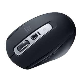 Bluetooth 5.0 ブルーLEDマウス MA-BTBL162BK ブラック [BlueLED /5ボタン /Bluetooth /無線(ワイヤレス)]