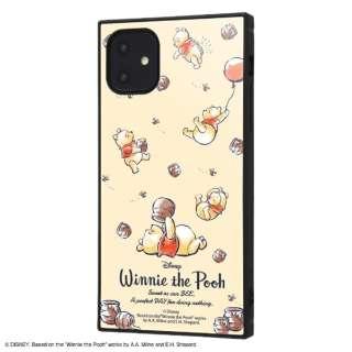 iPhone 11 6.1インチ / 『くまのプーさん』耐衝撃ハイブリッドケース KAKU /『くまのプーさん/Perfect Day』 IQ-DP21K3TB/PO013