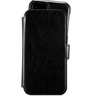 iPhone 11 6.1インチ モデル Berlin レザー調手帳型ケース 14378 Black