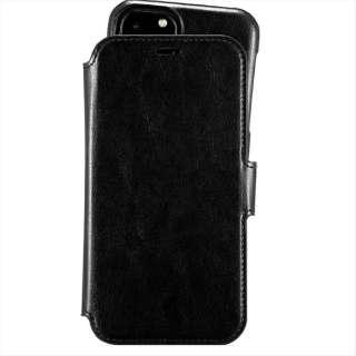 iPhone 11 Pro Max 6.5インチ モデル Berlin レザー調手帳型ケース 14379 Black