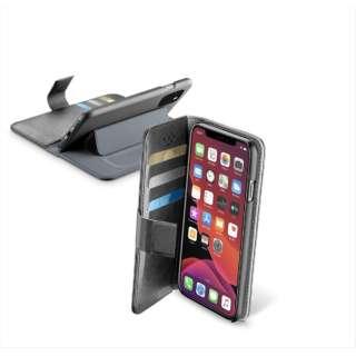 iPhone 11 Pro 5.8インチ BookAgenda スタンド付レザー調手帳型ケース BOOKAGENDAIPHXIK ブラック