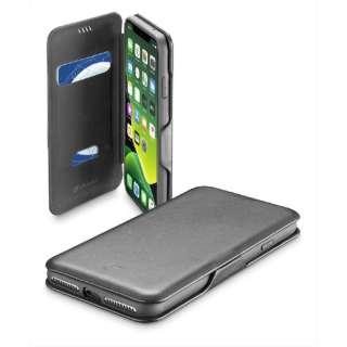 iPhone 11 6.1インチ モデル BookClutch カード収納レザー調手帳型ケース BOOKCLU2IPHXR2K ブラック