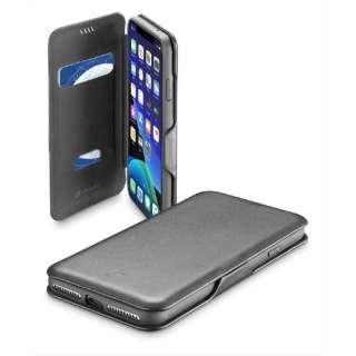iPhone 11 Pro Max 6.5インチ モデル BookClutch カード収納レザー調手帳型ケース BOOKCLU2IPHXIMAXK ブラック