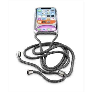 iPhone 11 6.1インチ モデル NECK-CASE ネックストラップ付ケース NECKCASEIPHXR2K ブラック