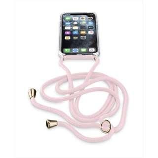 iPhone 11 Pro 5.8インチ NECK-CASE ネックストラップ付ケース NECKCASEIPHXIP ピンク