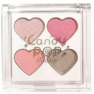 CandyPopmake(キャンディーポップメイク)4色アイシャドウ PK1