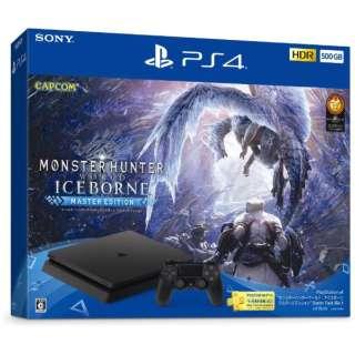 """PlayStation(R)4 """"モンスターハンターワールド:アイスボーン マスターエディション"""" Starter Pack Black CUHJ-10030 [ゲーム機本体]"""