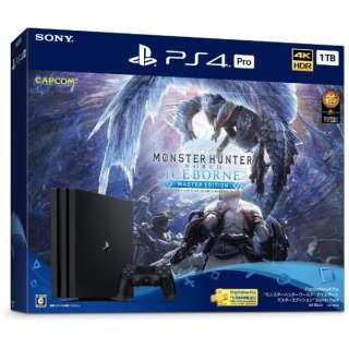 """PlayStation(R)4 Pro """"モンスターハンターワールド:アイスボーン マスターエディション"""" Starter Pack CUHJ-10032 [ゲーム機本体]"""
