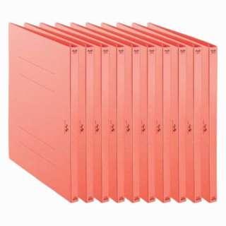利用者カルテ フラットファイル 10冊パック ピンク FL-805FF