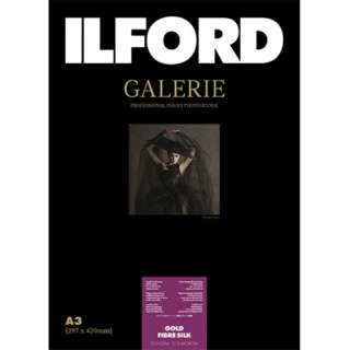 イルフォードギャラリーゴールドファイバーシルク 310g/m2(A3サイズ・25枚)ILFORD GALERIE Gold Fibre Silk 422132
