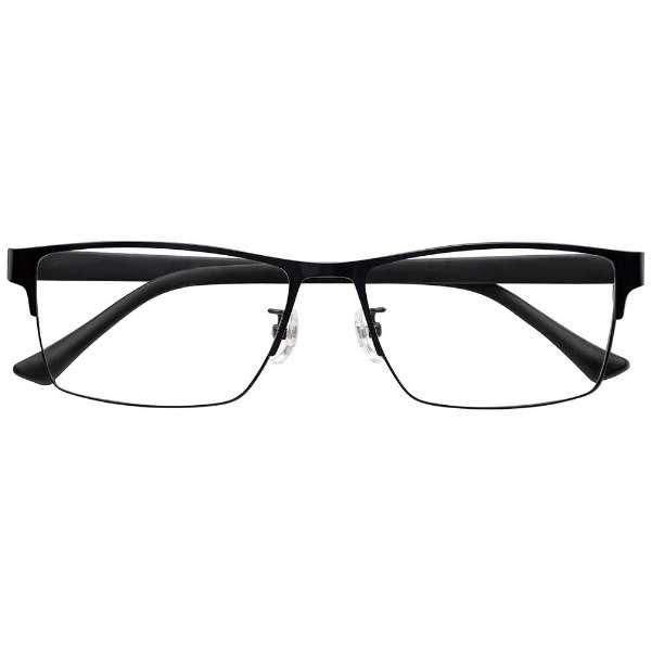自分の目でピントを探すシニアグラス 軽度 PINT GLASSES PG-111L-BK(ブラック)