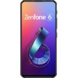 ZenFone 6 ミッドナイトブラック「ZS630KL-BK128S6」Snapdragon 855 6.4型 メモリ/ストレージ:6GB/128GB nanoSIM x2 DSDV対応 ドコモ/au/ソフトバンク/YmobileSIM対応 SIMフリースマートフォン ZS630KL-BK128S6 ミッドナイトブラック