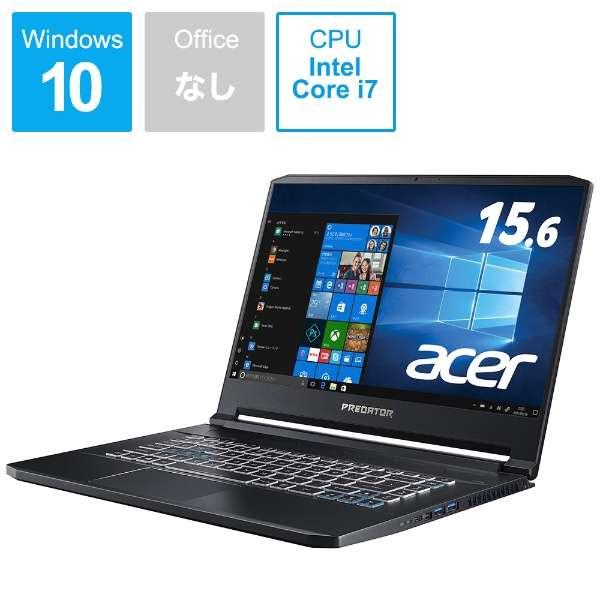 ゲーミングノートパソコン アビサルブラック PT515-51-A76Y7 [15.6型 /intel Core i7 /SSD:512GB /メモリ:16GB /2019年8月モデル]
