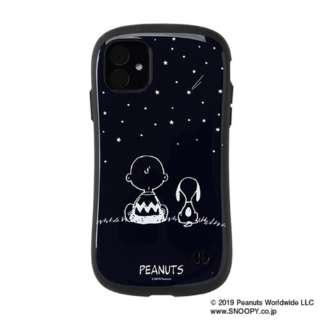 iPhone 11 6.1インチ PEANUTS/ピーナッツ iFace First Classケース 41-904459 スヌーピー&チャーリー・ブラウン/ネイビー
