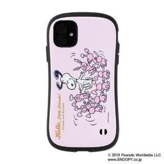iPhone 11 6.1インチ PEANUTS/ピーナッツ iFace First Classケース 41-904466 スヌーピー&ウサギ