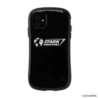 iPhone 11 6.1インチ MARVEL/マーベル iFace First Classケース 41-9041-904749 スタークインダストリーズ/ブラック