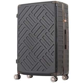 大容量ジッパーキャリー DECK 5204-76-BK ブラック [(約)116L]
