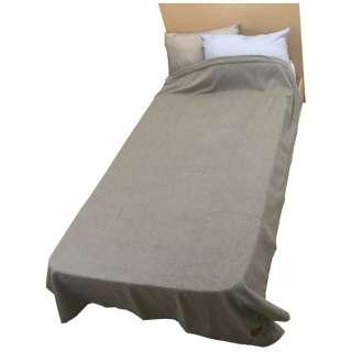 カシミヤ毛布(1重織) FQ2024(シングルサイズ/140×200cm/ベージュ)【日本製】